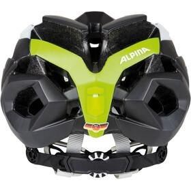 Alpina Valparola RC Helmet white-titanium-neon